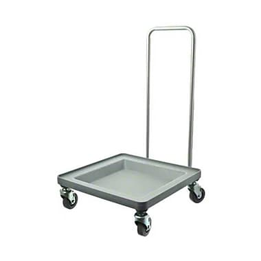 Cambro CDR2020H-151, Plastic Camdolly with Chrome Handle - for Dish Racks