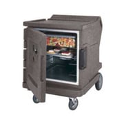 """Cambro CMBHC1826LC-191, 31"""" Half-Height Hot/Cold Food Holding Cabinet - Camtherm, Granite Gray"""