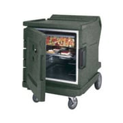 """Cambro CMBHC1826LTR-192, 31"""" Half-Height Hot/Cold Food Holding Cabinet w/ Security - Camtherm, Granite Green"""