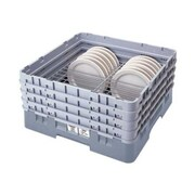 Cambro CRP20910-151, 9-10 1/4 Dish Rack - PlateSafe Camrack, Soft Gray