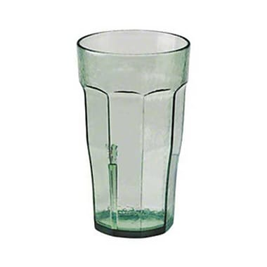 Cambro LT12-427, 12 oz Plastic Tumbler - Laguna Collection, Spanish Green