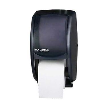 San Jamar R3500TBK, Duett Standard Bath Tissue Dispenser, Black Pearl