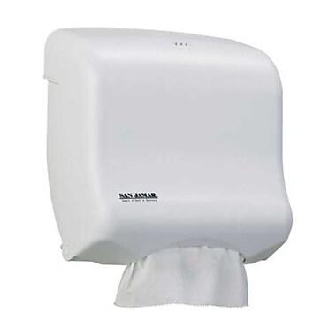 San Jamar T1750WH Plastic Towel Dispenser, White