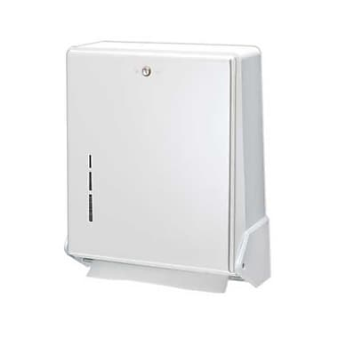 San Jamar T1905WH, 12in. x 15in. White True Fold Towel Dispenser