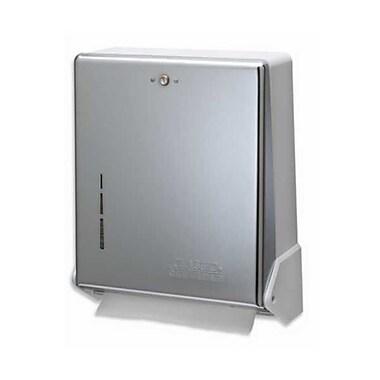 San Jamar T1905XC, 12in. x 15in. Chrome-Finish True Fold Towel Dispenser
