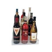 Update International ABO-3X3, Acrylic Nine Bottle Three-Tier Wine Bottle Holder