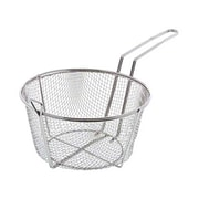 "Update International FB-9, 9 1/2"" Round Wire Fry Basket"