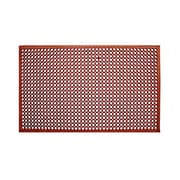 "Update International Rubber Anti-Fatigue Mat 60"" x 36"", Red"