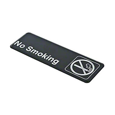 Update International S39-11BK, in.No Smokingin. Sign