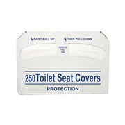 Update International SCD-PPR, Half-Fold Toilet Seat Covers - Case of 250