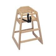 Update International WD-HC, 29 Natural Wood High Chair