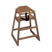 Update International WD-HCW, 29 Walnut Finish High Chair