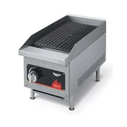 Vollrath 40728 Cayenne Commercial Radiant/Lava Rock Charbroiler, Gas
