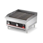 Vollrath 407372 Cayenne Commercial Radiant/Lava Rock Charbroiler, Gas