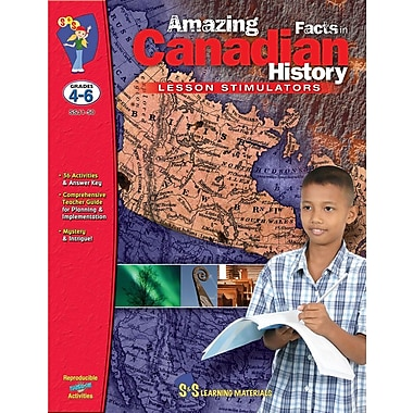 Amazing Facts in Canadian History, Grades 4-6