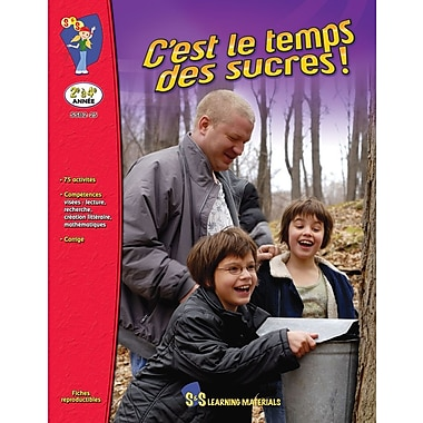 It's Maple Season!, Grades 2-4 (French Book)