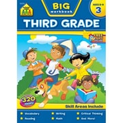 School Zone SZBWB-6314 Big Workbook, Grade 3