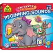 School Zone® Mighty Mini Pencil-Pal™ Beginning Sounds On-Track™ Software, Preschool/Ages 3-5