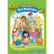 School Zone® Super Scholar Workbook, Grade 2/Ages 7-8