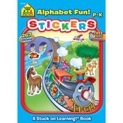 School Zone® Alphabet Fun Sticker Workbook, Grades Preschool-K