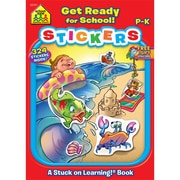 School Zone® Get Ready For School Sticker Workbook, Grades Preschool-K
