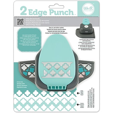 We R Memory Keepers™ 2 Edge Punch, Trellis