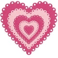 We R Memory Keepers™ Lifestyle Crafts Nesting Dies, Eyelet Hearts, 5 Dies