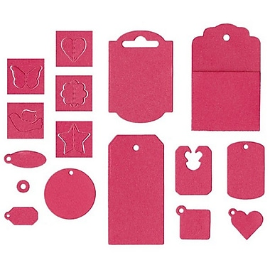We R Memory Keepers® Lifestyle Crafts It Kit Dies, Tag, 16/Pack