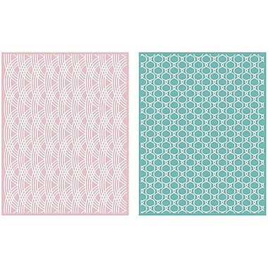 We R Memory Keepers™ Lifestyle Crafts Goosebumps A2 Embossing Folders, Lattice