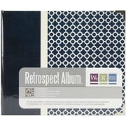 We R Memory Keepers™ Paper 3-Ring Printed Album, 6 x 6, Vector/Navy