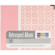 We R Memory Keepers™ Paper 3-Ring Printed Album, 6 x 6, Bloom/Pink