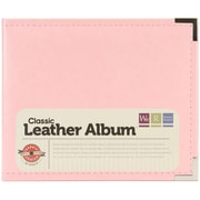 We R Memory Keepers™ Classic Faux Leather 3-Ring Binder, 6 x 6, Pretty Pink