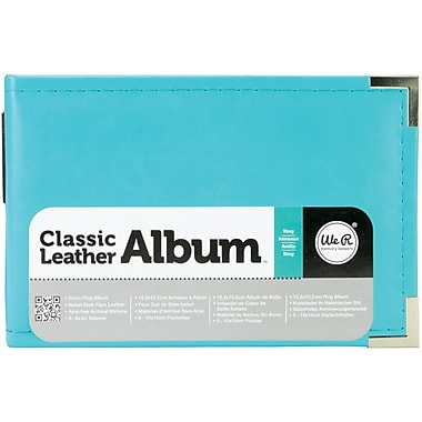We R Memory Keepers™ 6in. x 4in. Classic Leather D-Ring Photo Albums