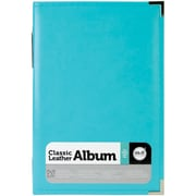 We R Memory Keepers™ Classic Leather Ring Photo Album, 6 x 12, Aqua
