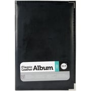 We R Memory Keepers™ Classic Leather Ring Photo Album, 6 x 12, Black