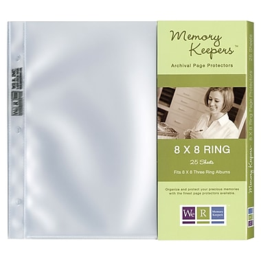 We R Memory Keepers™ Ring Page Protector, 8in. x 8in.
