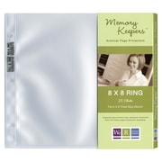 We R Memory Keepers™ Ring Page Protector, 8 x 8