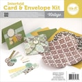 We R Memory Keepers™ Interfold Card & Envelope Pads Kit, 4in. x 4in., Vintage