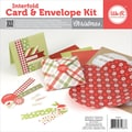 We R Memory Keepers™ Interfold Card & Envelope Pads Kit, 4in. x 4in., Christmas