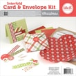 "We R Memory Keepers™ Interfold Card & Envelope Pads Kit, 4"" x 4"", Christmas"