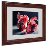 "Trademark Fine Art 'Beauty So Deep It Makes You' 11"" x 14"" Wood Frame Art"
