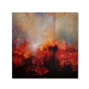 Trademark Fine Art 'Red Earth' 14 x 14 Canvas Art