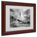 Trademark Fine Art 'First Link' 11in. x 14in. Wood Frame Art