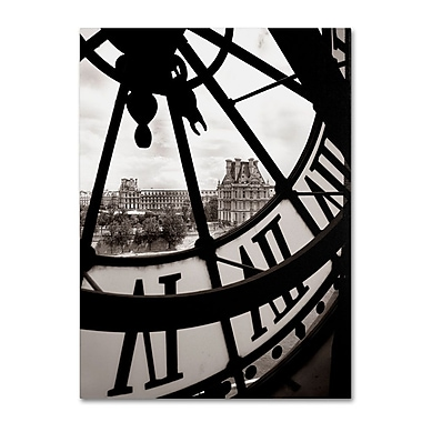Trademark Fine Art 'Big Clock' 24