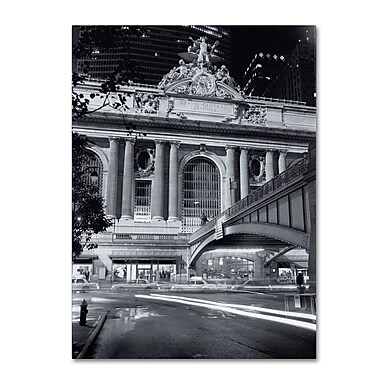 Trademark Fine Art 'Grand Central Night' 18