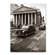 "Trademark Fine Art 'London Exchange' 24"" x 32"" Canvas Art"