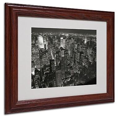 Trademark Fine Art 'Night Skyline' 11