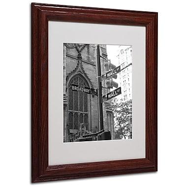 Trademark Fine Art 'Wall Street Signs' 11