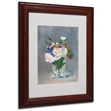 Trademark Fine Art 'Flowers In a Crystal Vase' 11