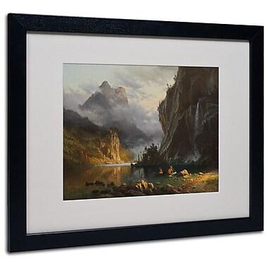 Trademark Fine Art 'Indians Spear Fishing' 16